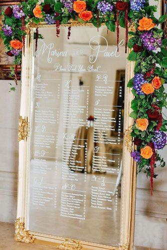 mirror wedding decor ideas 5