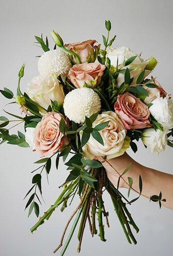 bridal bouquet shapes haid tied wedding bouquet louflowerstudio