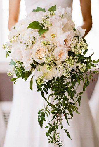 bridal bouquet shapes tender cascade bouquet southern blooms