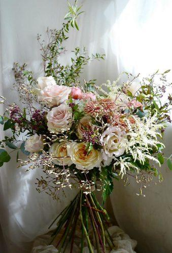 bridal bouquet shapes wild haid tied bouquet keirafleur