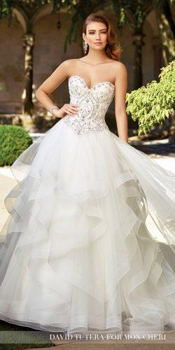 gorgeous sweetheart wedding dresses by david tutera 2