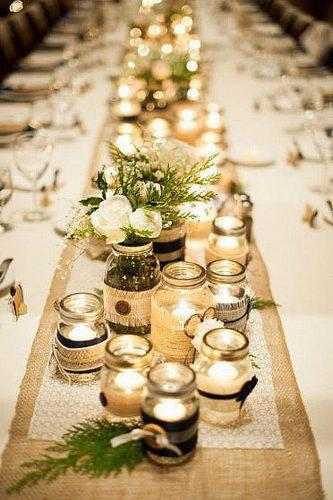 Mason Jar Wedding Centerpieces.33 Gorgeous Mason Jars Wedding Centerpieces Wedding Forward
