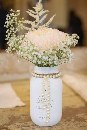 33 Gorgeous Mason Jars Wedding Centerpieces Page 5 Of 7
