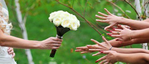 single bloom wedding bouquets featured