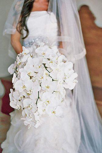 single flower wedding bouquets 13