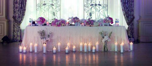 wedding title centerpieces