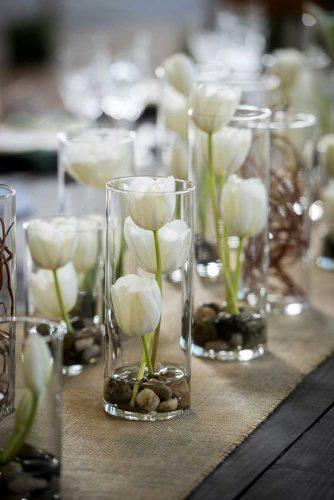 wedding tulps centerpieces 5
