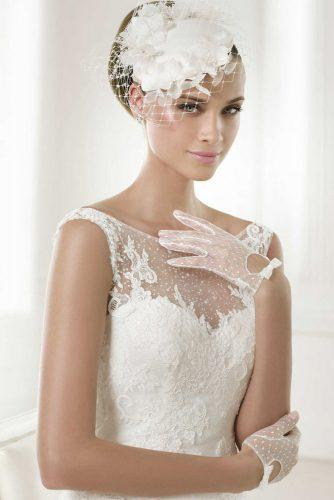 wedding hats with veil1