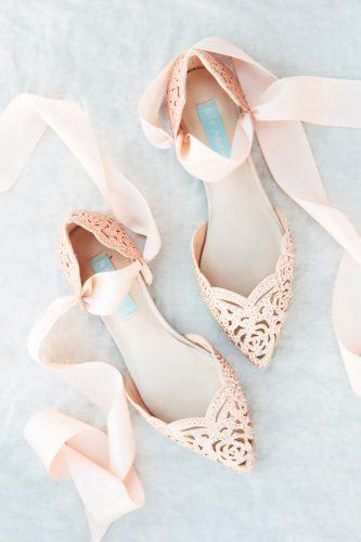 flats with ribbons comfortable wedding shoes michelle boyd