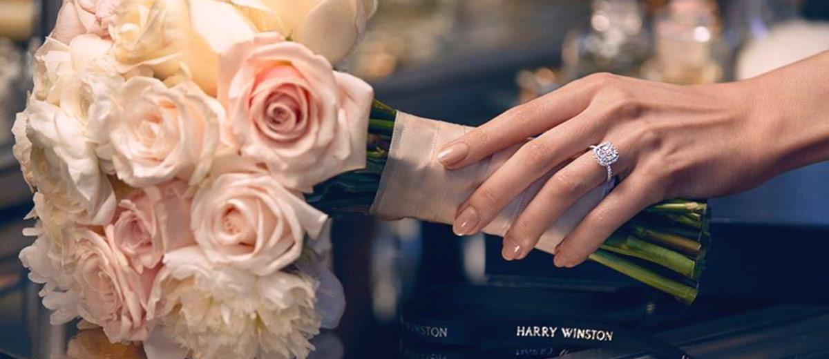 amazing harry winston diamond engagement rings