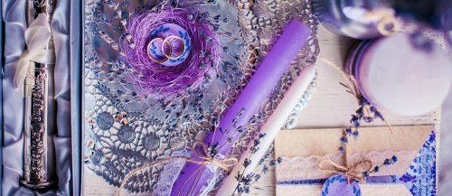 lavender wedding decor ideas featured