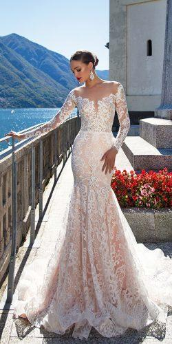 lace long sleeve wedding dresses by millanova 2
