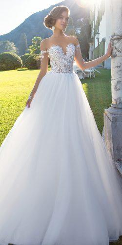 aline ball gown wedding dresses by millanova 2