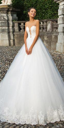 a line ball gown bridal dresses by milla nova 1