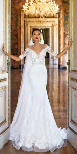 millanova wedding dresses 2017 with lace sleeve