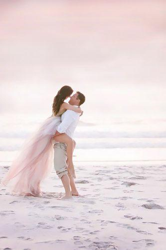 romantic beach wedding photo 9