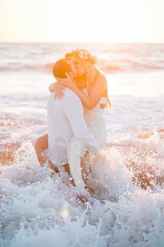 romantic beach wedding photo 11