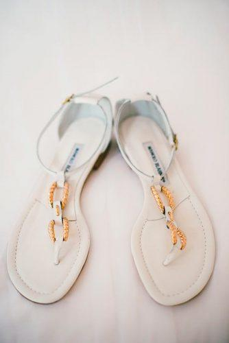 ankle straps sandals gold and white wedding shoes manolo blahnik