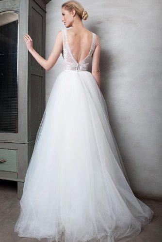 ballet wedding dress ideas low bridal gown 2