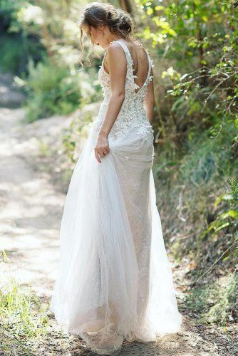 ballet wedding dress ideas low bridal gown