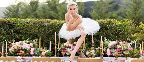 ballet wedding inspiration ideas