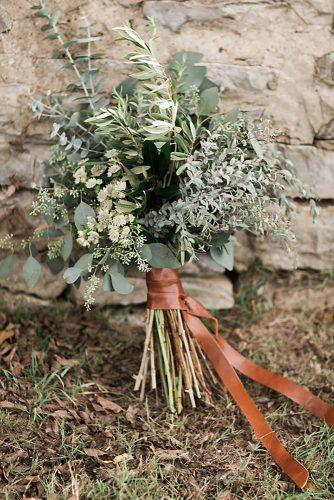 bridesmaid wedding bouquets with greenery eucalyptus sleepy fox photography