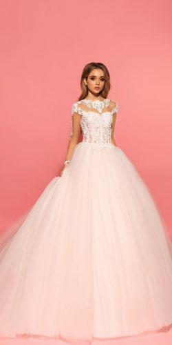 eva lendel lace ball gown debra