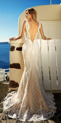 eva lendel mermaid dress with beatiful back tailor