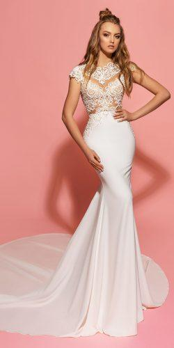 eva lendel sexy mermaid wedding dress