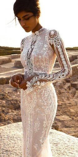 romantic wedding dresses long sleeves gala by galia lahav 3
