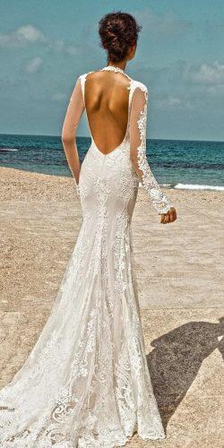 romantic mermaid dress long sleeves gala by galia lahav 2
