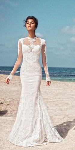 romantic mermaid dress long sleeves gala by galia lahav