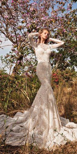romantic wedding dresses long sleeves gala by galia lahav 4