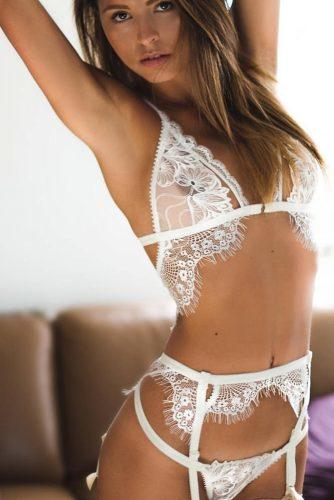 honeymoon lingerie sexy white transparent and lace lingerie addiction via instagram