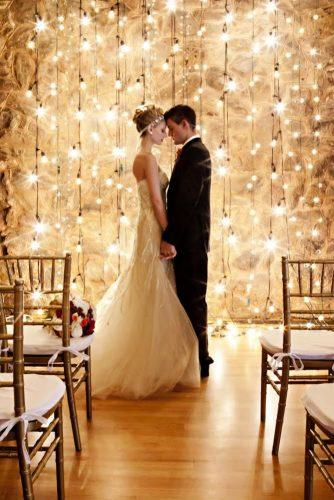 romantic wedding romantic-backdrop kiss frances photography