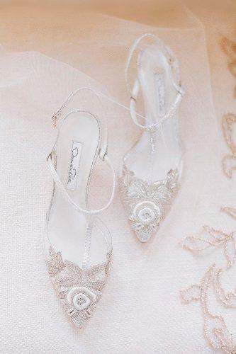 sandals ankle straps hand beaded lace white wedding shoes josevilla