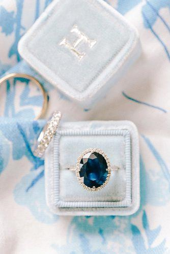 engagement rings with blue sapphire stone 4