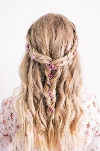 best wedding hairstyles for long hair wedding
