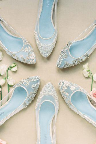 white wedding shoes bella belle flat collection