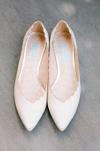 white wedding shoes simple classic flats annabella charles