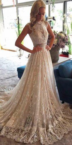 a line wedding dresses lace heavily embroidered caps sleeves galia lahav