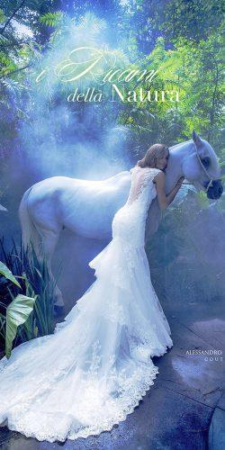 open low back lace wedding dresses with royal train by alessandro angelozzi