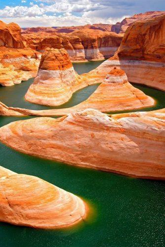 best honeymoon destinations in usa great lake powell utah