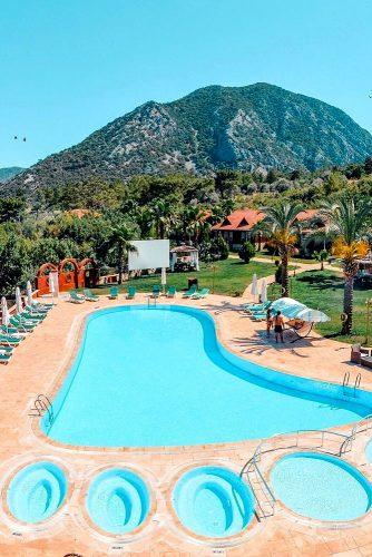 best honeymoon spots pool in turkey