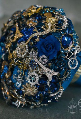 brooch wedding bouquets blue bouquet nicsbuttonbuds
