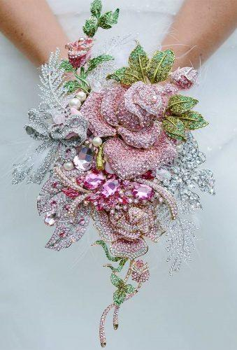 brooch wedding bouquets tender brooch rose brooch bride