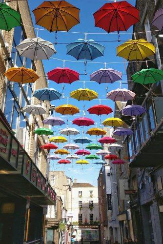 cheap honeymoon destinations umbrella street ireland travel