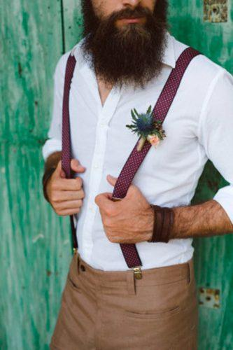 country rustic groom attire with suspenders margherita calati 26