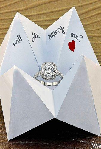 creative and simple marriage proposal