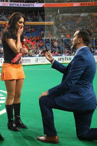 marriage proposals sport proposal